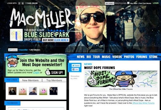 Mac Miller : WordPress Publisher Spotlight - Enterprise