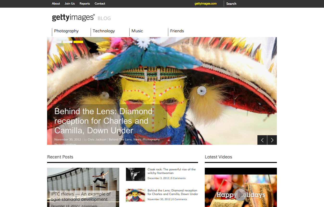 The Getty Images Blog  