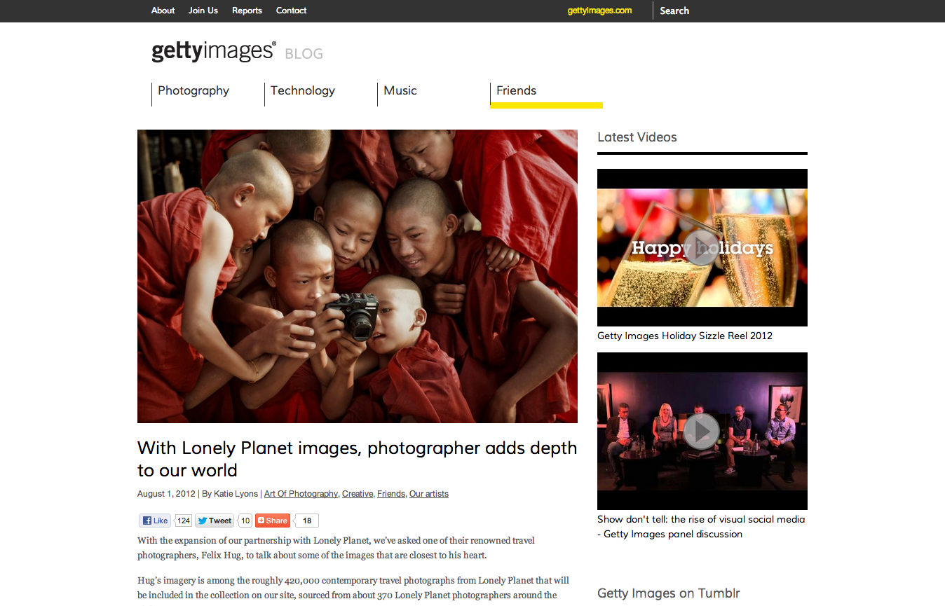 With Lonely Planet images, photographer adds depth to our world