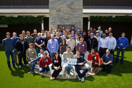 The WordPress.com VIP Workshop class of 2012.