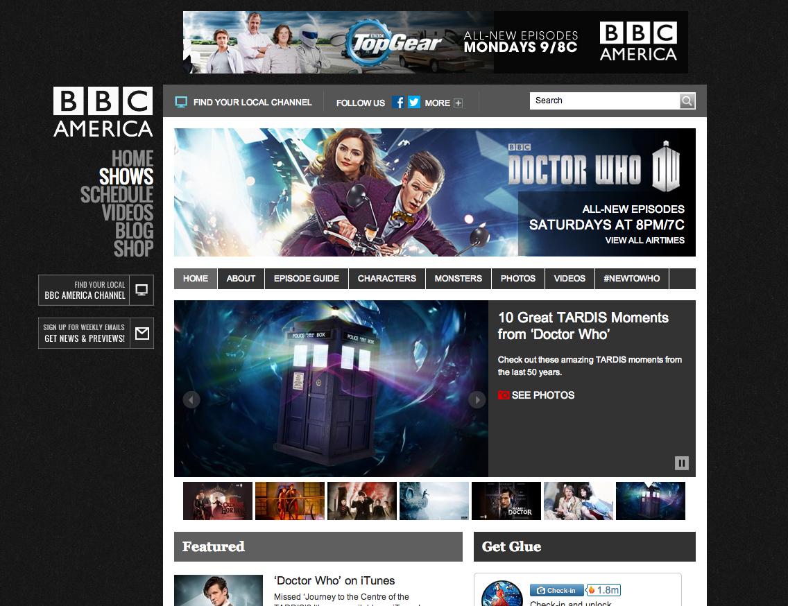 BBC America - Shows