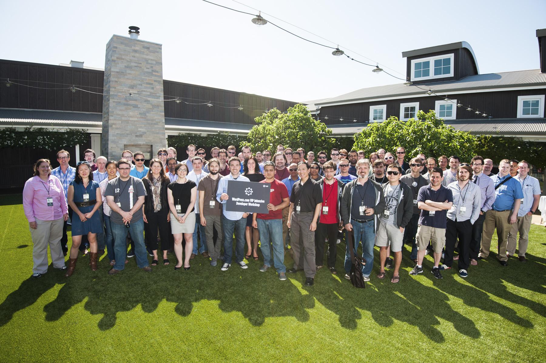 WordPress.com VIP Workshop 2013 Group photo