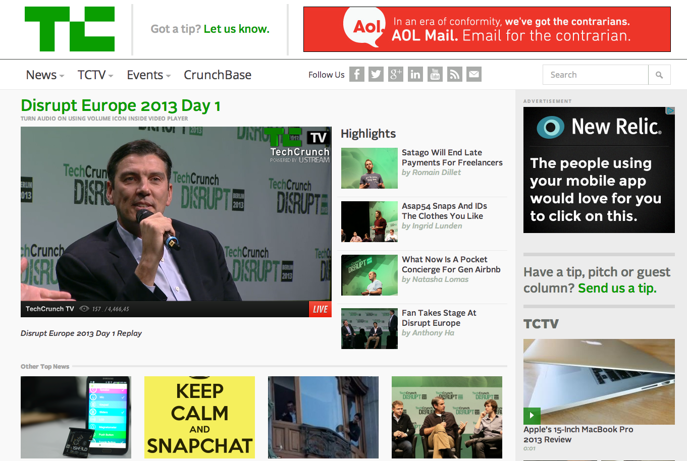 TechCrunch - The latest technology news and information on startups