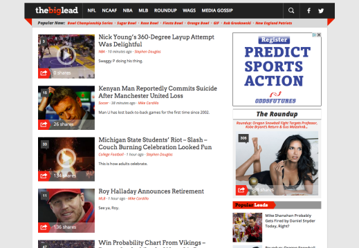 The Big Lead   Sports News and Media