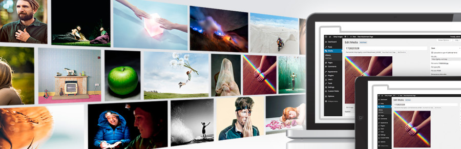 Getty Images - Enterprise WordPress hosting, support, and consulting