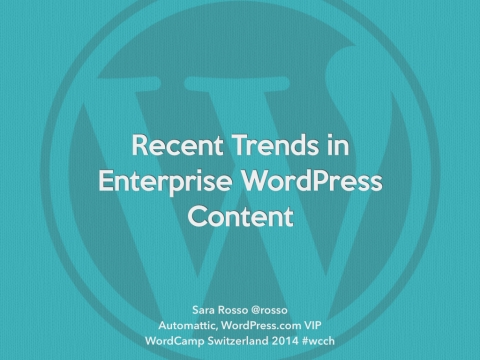 Trends in Enterprise WordPress Content