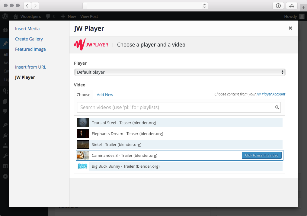 jwplayer-wordpress-screenshot-1
