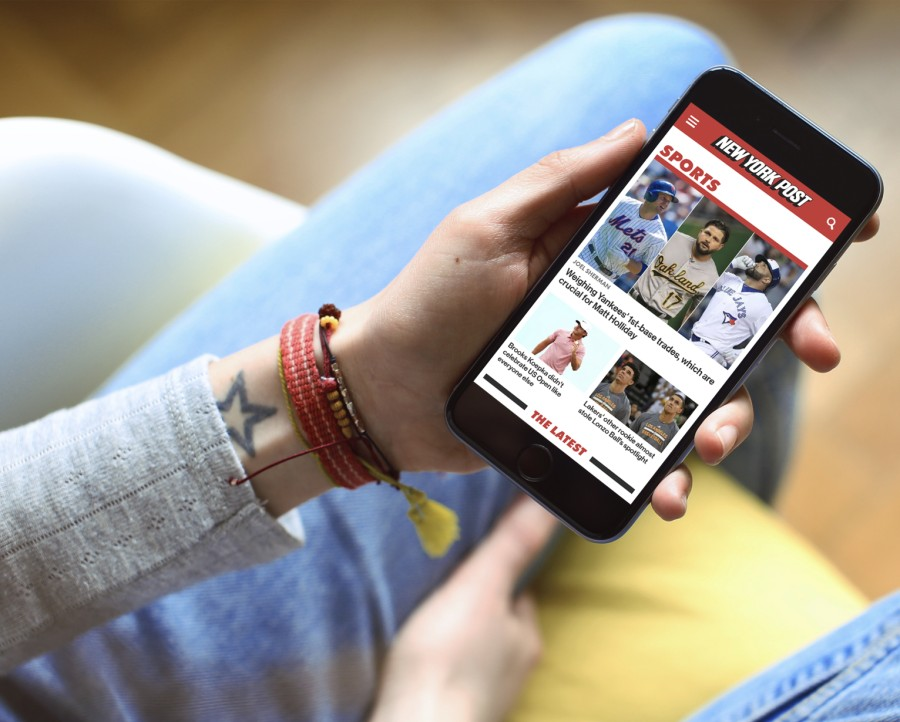 New York Post mobile experience