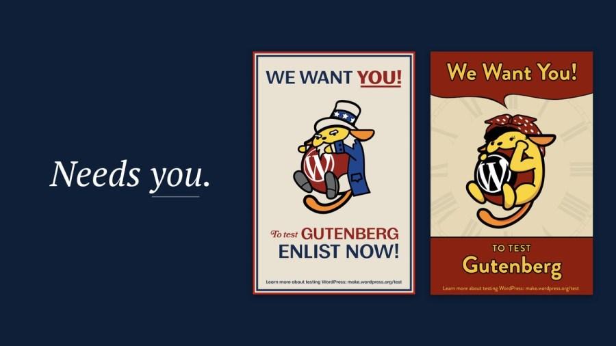 Help test Gutenberg