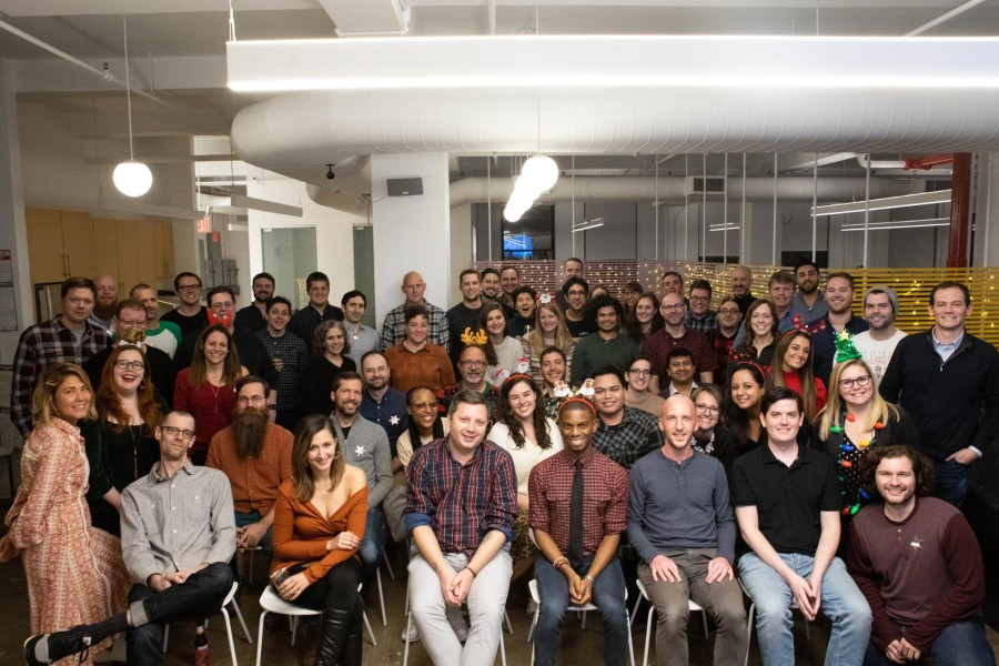 Team photo of Happy Cog, a digital agency based in NYC