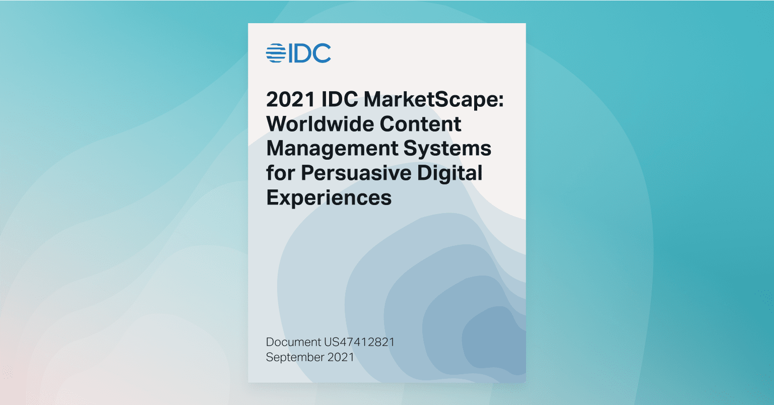 Automattic named a Leader in 2021 IDC MarketScape: Worldwide Content Management Systems for Persuasive Digital Experiences